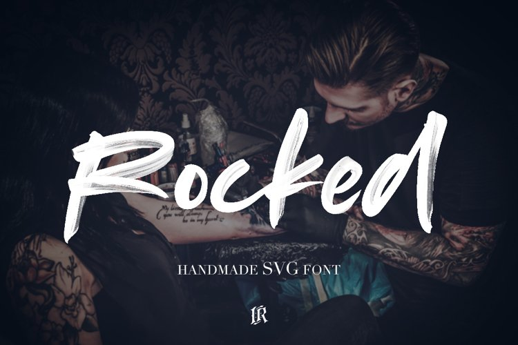 Rocked SVG Font example image 1