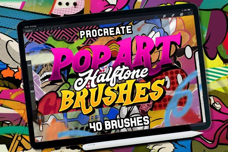 POP ART BRUSHES KIT FOR PROCREATE
