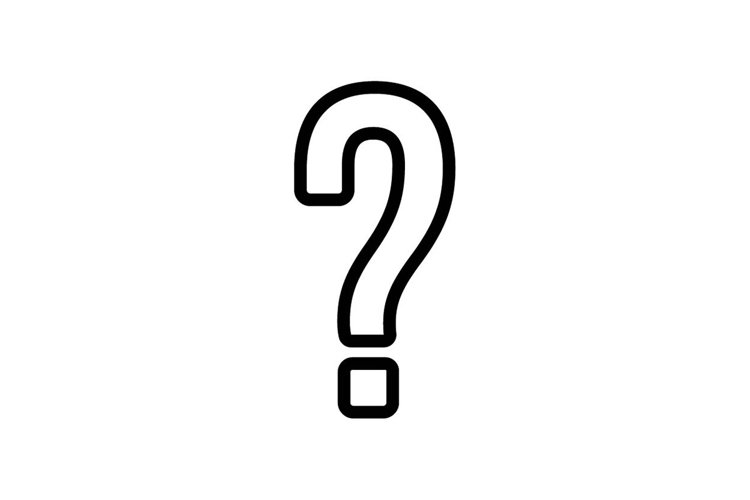 question mark icon example image 1
