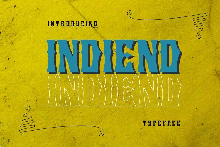 INDIEND Typeface