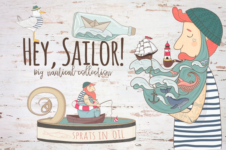 Hey,Sailor!Nautical collection example image 1