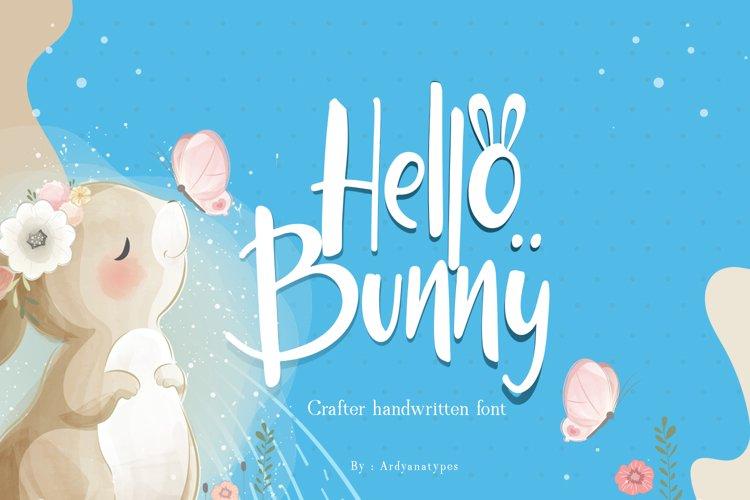 Hello Bunny example image 1