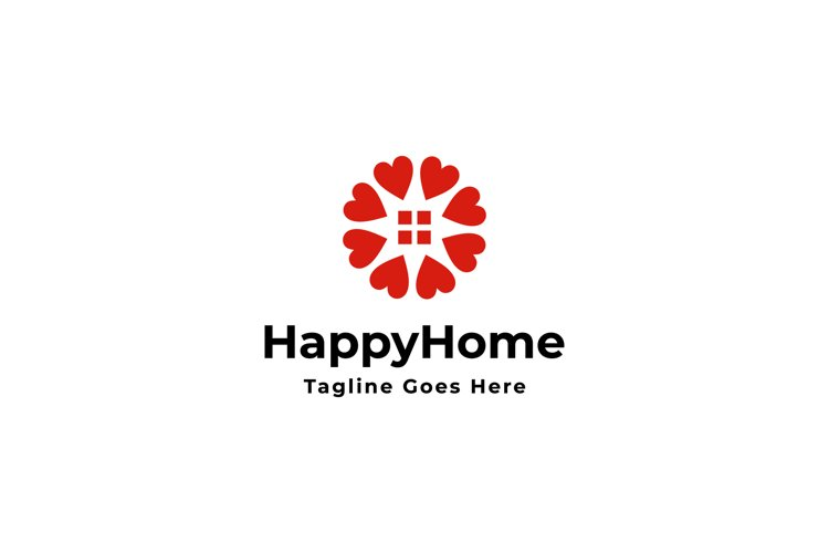 happy home logo example image 1