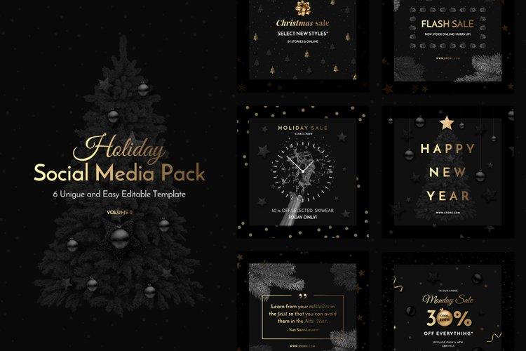 Holiday Social Media Pack vol.2