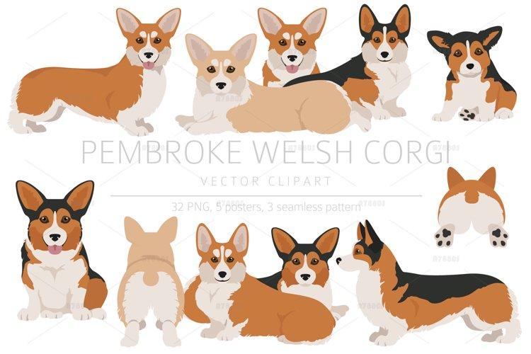 Pembroke Welsh Corgi clipart