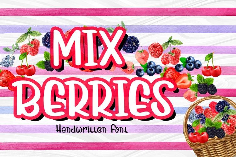 Mix Berries example image 1