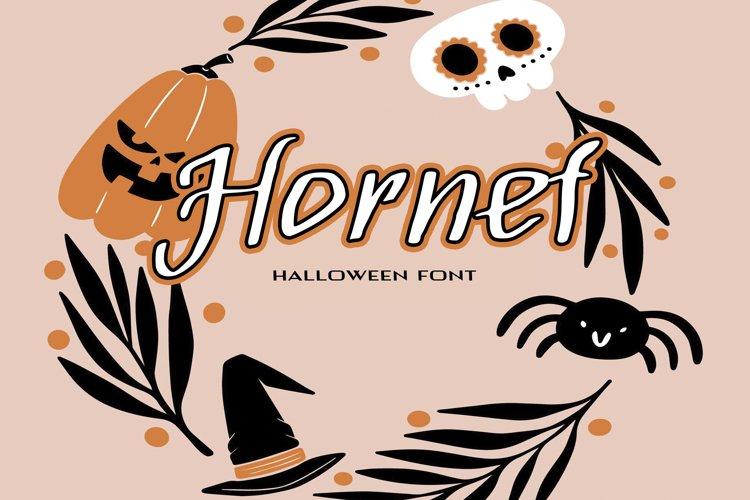 Hornef Halloween Font example image 1