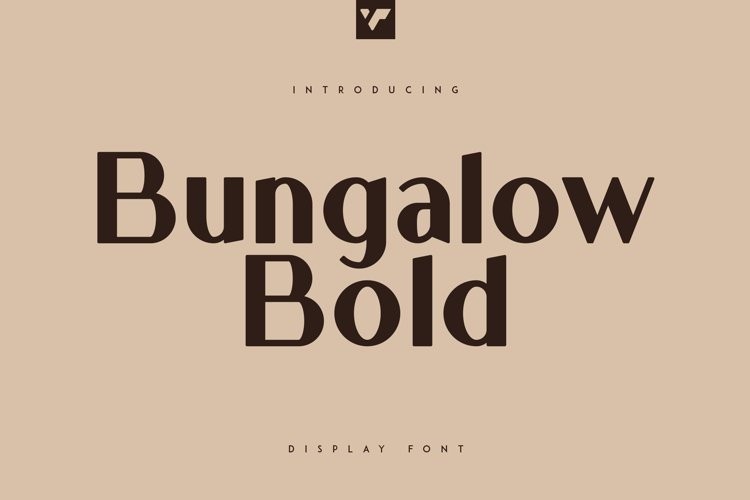 Bungalow Display Bold Font example image 1