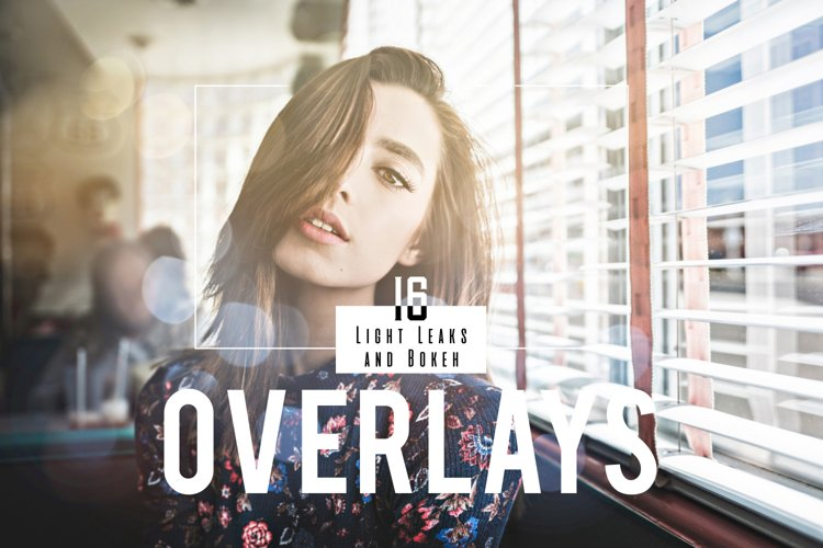 16 Light Leaks and Bokeh Overlays example image 1