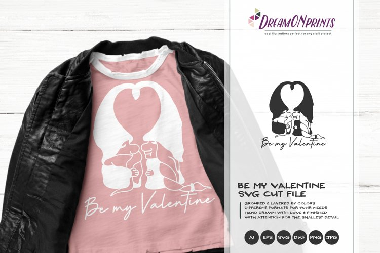 Gnomes SVG | Be My Valentine SVG Cut File