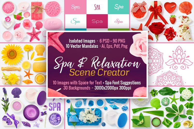 Spa & Relaxation Scene Creator example image 1