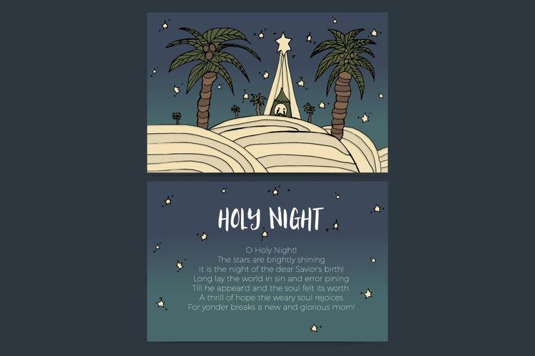 Holy Night - baby Jesus
