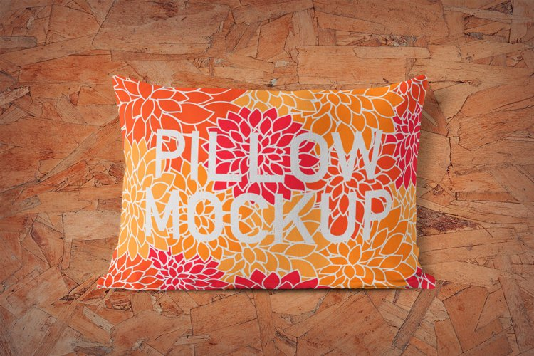 Pillow Mockup example image 1