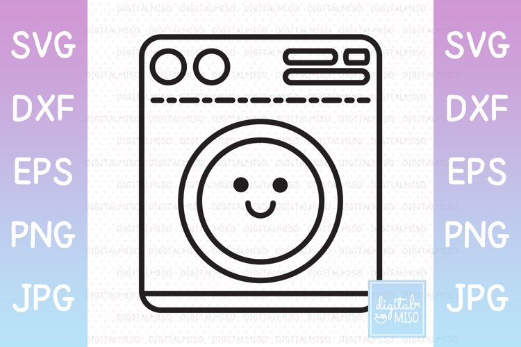 Laundry Outline V1 - Kawaii Vector Icons
