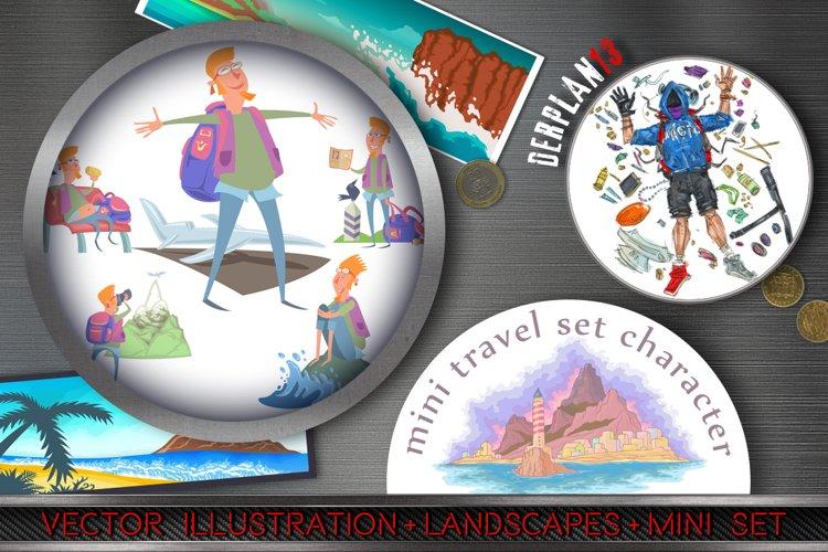 Mini Travel Character Set