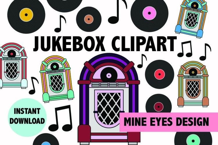 Vintage Jukebox Illustrations
