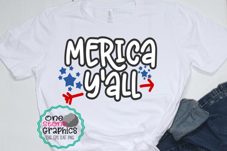 merica y'all svg,fourth of july svg,july fourth svg, merica example image 1