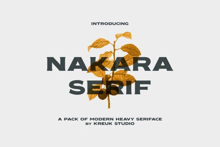Nakara Serif example image 1
