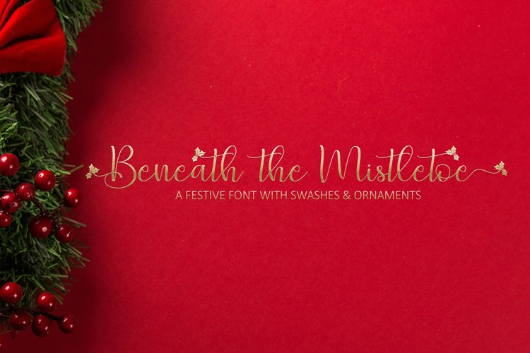 Beneath The Mistletoe example image 1