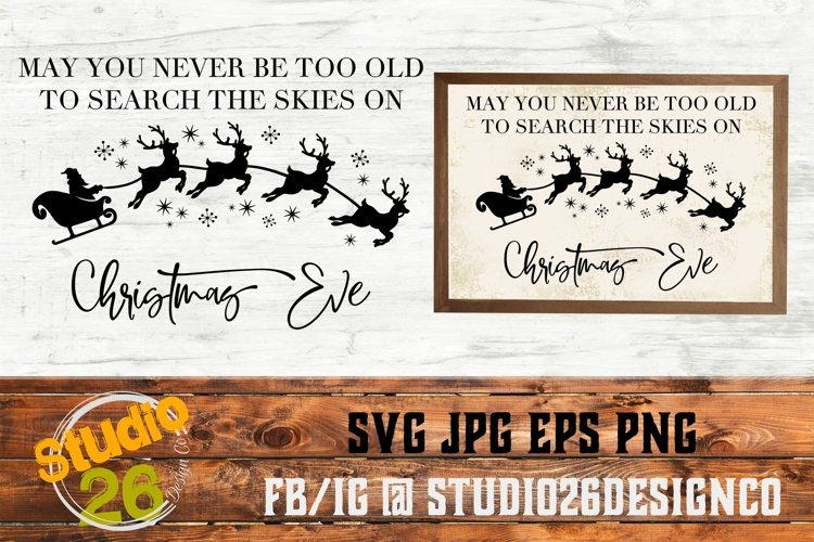 Christmas Eve - SVG PNG EPS