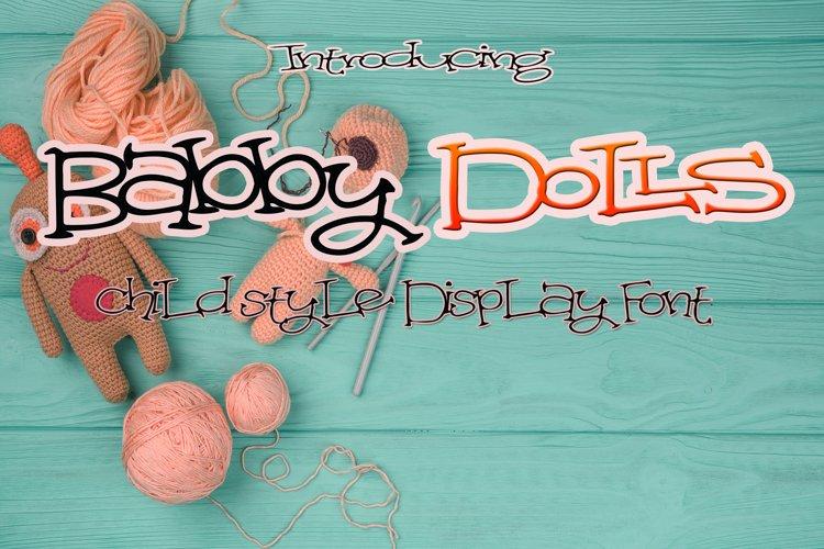 Babby Dolls example image 1