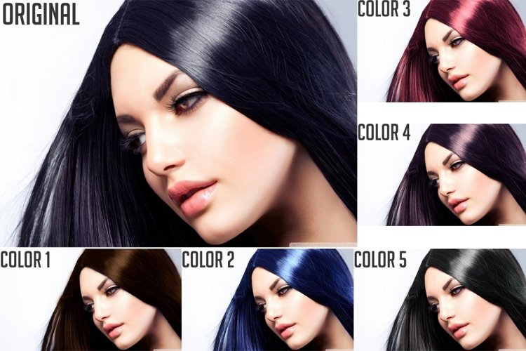 Hair Color Effects example image 1
