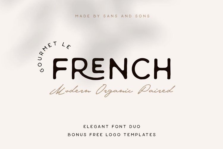 Gourmet Le French - Modern Paired Duo example image 1
