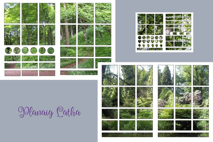 Parks of Wales A4 Letter size Planner stickers example image 1