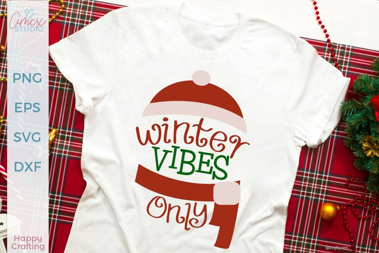 Winter Vibes Only - A Cute Christmas Craft Set