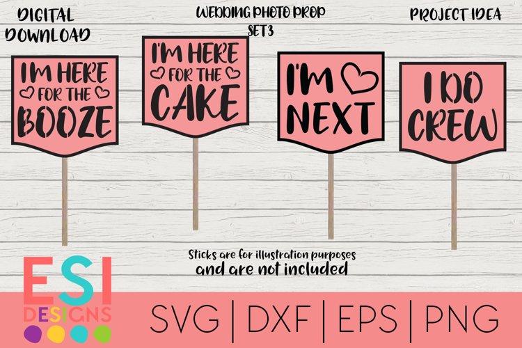Wedding SVG | Photo Prop Set 3| SVG, DXF, EPS, PNG