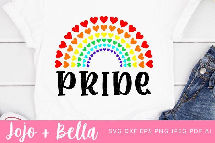 LGBT Pride SVG - Rainbow SVG example image 1