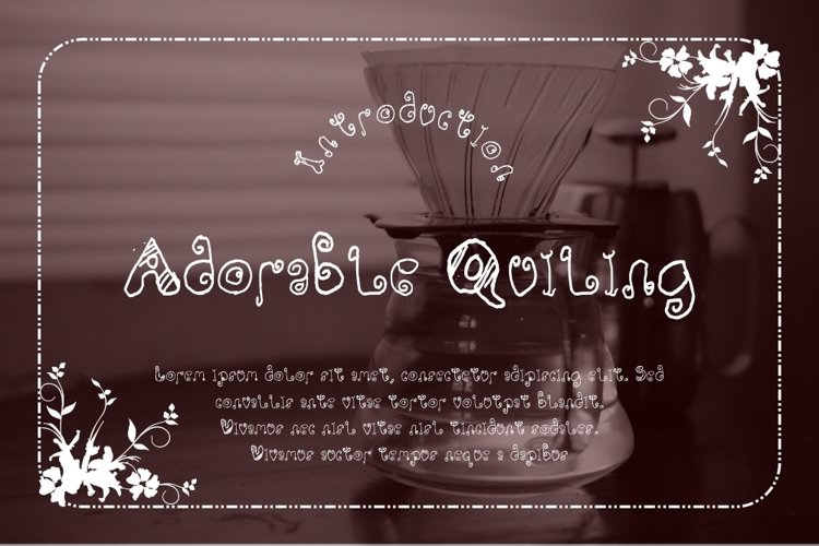 Adorable Quiling example image 1
