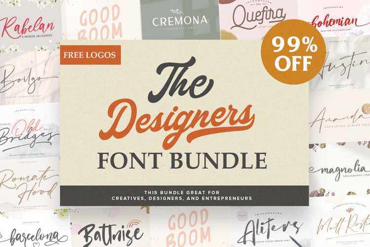 The Huge Font Bundle Collections