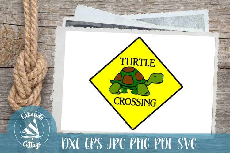Turtle Crossing - tortouise turtle rescue - svg dxf eps