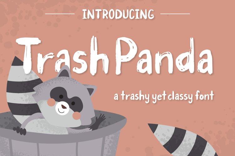 Trash Panda Font example image 1