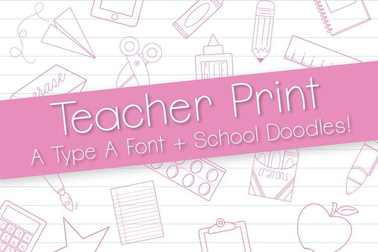 Teacher Print Duo example image 1
