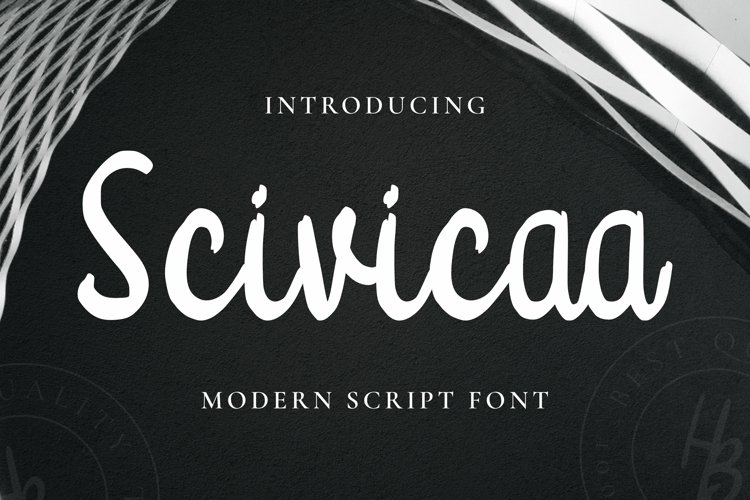 Scivicaa Font example image 1