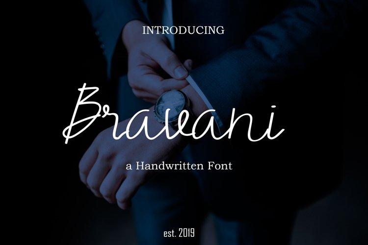 Bravani Font