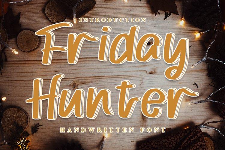 Friday Hunter example image 1