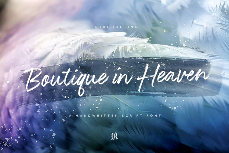 Boutique in Heaven Font example image 1