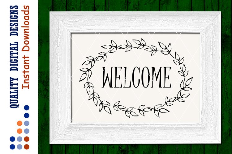 Welcome sign svg files sayings Home decor Vinyl Designs