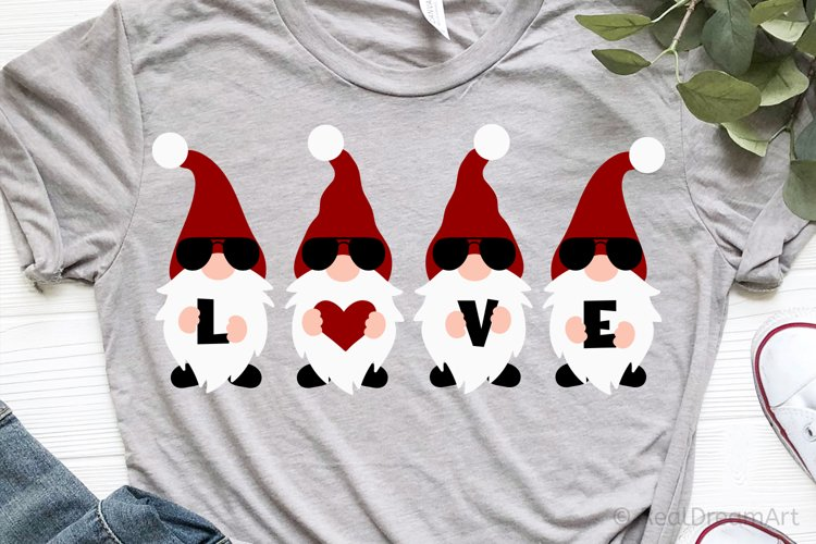 Gnomes Love SVG, DXF, PNG, EPS