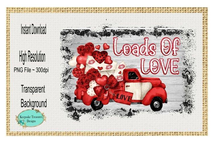 Loads Of Love, Sublimation Design