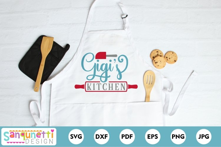 Gigis Kitchen SVG - baking and cooking