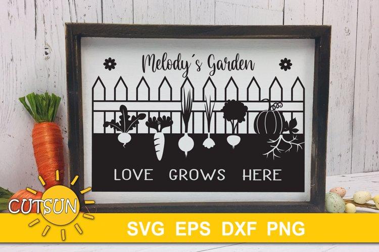 Garden SVG| Vegetable garden SVG