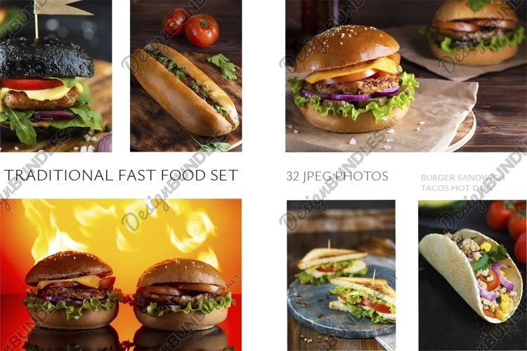 Big fast food set