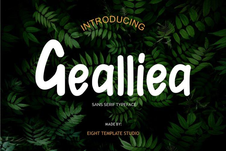 Gealliea example image 1
