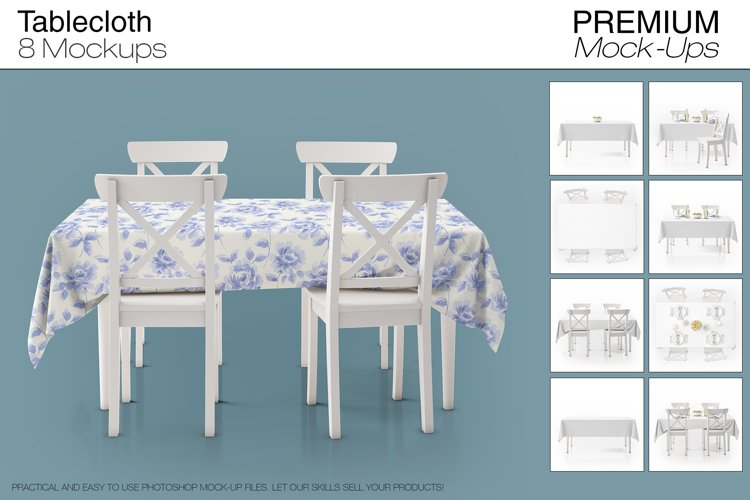 Tablecloth Mockup Set example image 1