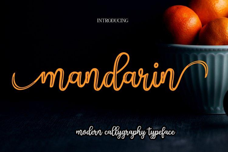 Mandarin example image 1