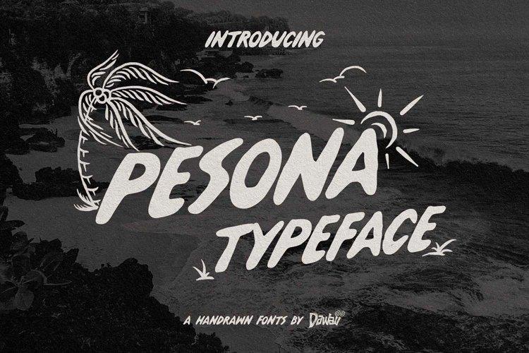 Pesona Typeface example image 1